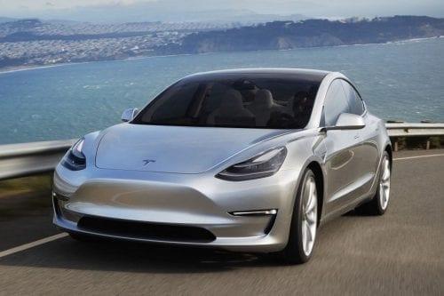 Tesla mod 3