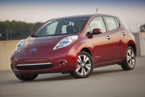Nissan leaf-24k