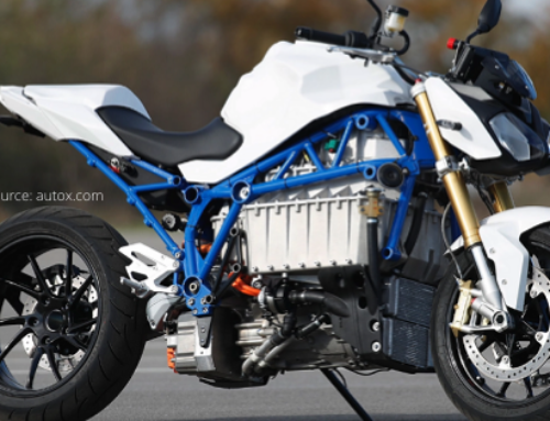 Get Your First Look at BMW E-Power Roadster Electric Bike