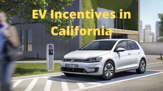 EV incentives in California
